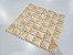 Placa Pastilha Adesiva Resinada 18x18 cm - AT083 - Creme - Imagem 1