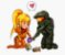 Enjoystick Samus and Master Chief - Imagem 1