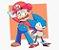 Enjoystick Mario and Sonic - Imagem 1