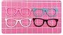 Kit Recortes em Feltro  Óculos Tradicional 10 cm - 6 un - Imagem 1