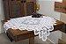 Toalha Quadrada Branca Arabesco - Imagem 1