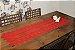 Trilho de Mesa Vermelho Interlar - Imagem 1