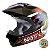 Capacete Para Motocross Top Helmet Vision 60 Th-1 Nos Pro Tork - CAP-284PT - Imagem 1