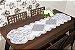 Trilho Branco Com Estampa de Tulipinhas 42CM X 150CM Interlar - 100472 - Imagem 1