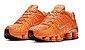 Tênis Nike Shox TL 12 Molas – Laranja com Prata Masculino - Imagem 3