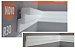 "Moldura RodaTeto de isopor modelo R30 ""Liso de fabrica"" ( valor por metro ) - Imagem 1"
