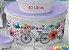 Tupperware Porta Tudo Lilás com Branco 10 Litros - Imagem 1