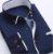 Camisa Masculina Casual Manga Longa Estampada - Imagem 1