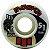 Roda Moska Rock  51mm 53D. Branca (com 4 rodas) - Imagem 1