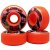 Roda Moska Rock 53mm 53d Laranja ( jogo 4 rodas ) - Imagem 2