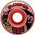 Roda Moska Rock 53mm 53d Laranja ( jogo 4 rodas ) - Imagem 1