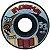 Roda Moska Rock 53mm 53d Preta ( jogo 4 rodas ) - Imagem 1