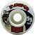 Roda Moska Rock 55mm 53D. Branca ( jogo 4 rodas ) - Imagem 1