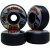 Roda Moska Rock 55mm 53D. Preta ( jogo 4 rodas ) - Imagem 2