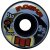 Roda Moska Rock 55mm 53D. Preta ( jogo 4 rodas ) - Imagem 1