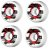 Roda Powell Peralta Skateboard Ripper 60mm 104a. Branca (com 4 rodas) - Imagem 2