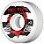 Roda Powell Peralta Skateboard Ripper 60mm 104a. Branca (com 4 rodas) - Imagem 1