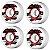 Roda Powell Peralta Skateboard Ripper 58mm 104a. Branca (com 4 rodas) - Imagem 2