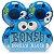 Roda Bones Stf Googly Blues 55mm V4. ( jogo 4 rodas ) - Imagem 2