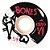 Roda Bones Original STF 54mm Branca 83B V1. (com 4 rodas) - Imagem 1