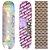 Shape Maple Chaze Skate Importado 8.0 Prata (Grátis Lixa Jessup Importada) - Imagem 1
