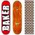 Shape Maple Importado Baker Brand 8.5 (Grátis lixa Jessup) - Imagem 1