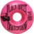 Roda para Skate Black Sheep Color Injetada 51mm Rosa ( jogo 4 rodas ) - Imagem 2