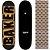 Shape Maple Importado Baker Brand 8.0 Black Escrito Laranja (Grátis lixa Jessup) - Imagem 1