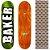 Shape Importado Baker Brand 8.0 Foil Verde (Grátis lixa Jessup) - Imagem 1
