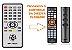 Controle Remoto Para Receptor Maxfly  MF-7100T / MF-7100Z / Rayo 3D3  - Imagem 1