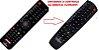 Controle Remoto Para Receptor Phantom Ultra HD TV / Ultra HC TV - Imagem 1