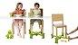 Base Extensora Portátil para Cadeiras Natural - Kaboost: - Imagem 3