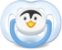 Chupeta Freeflow Ortodôntica Pinguim 6-18 meses - Philips Avent - Imagem 1