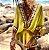 Saída de Praia Robe Femme Bohemian Decote em  V - Imagem 2