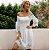 Vestido Feminino Elegante Ciganinha com Renda - Imagem 5