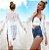 Cardigan Kimono Saída De Praia Em Renda Sensual E Charmosa - Imagem 8