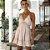 Vestido Feminino Estilo Boho Alcinhas e Renda Delicada  - Imagem 9