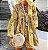 Vestido Feminino Floral Vintage Estampa Floral Delicado com Aplique em Renda - Imagem 3