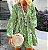 Vestido Feminino Floral Vintage Estampa Floral Delicado com Aplique em Renda - Imagem 2