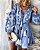 Vestido Feminino Espampa Vintage Boho com Pingentes - Imagem 4