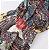 Vestido Feminino Longo Floral Arabesco Vintage  - Imagem 9