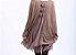 Vestido Delicado Mini de Sobrepor Outono Inverno  - Imagem 8