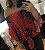 Blusa Feminina Leve Floral Ombro a Ombro com Laço - Imagem 4
