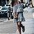 Vestido Feminino Listrado Mini Ombro a Ombro  - Imagem 5