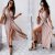 Vestido Feminino Transpassado em Poás Candy Color - Imagem 1