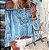 Blusa Feminina Leve Ombro a Ombro Estampa Tatuagem Delicada - Imagem 1