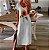 Vestido Feminino Leve Praiano Estampa Girassol - Imagem 1