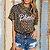 T-Shirt Irreverente Estamparia Felina Madre ou Blondie - Imagem 3