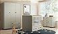 Dormitório Baby Linha Happy Cinza - Imagem 1