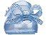 Sapatilha Mini Perolado Azul Ultragirl + Frozen - Melissa - Imagem 4